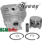 Поршневая Hyway D52 Nikasil для бензопил Stihl MS 461, GS 461