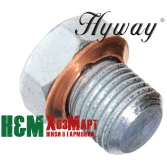 Заглушка декомпресійного отвору Hyway до мотокос Husqvarna 343, 345, Хивей (VA000006)