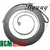 Пружина стартера Hyway для бензорезов Husqvarna 3120K, 3122K, K1250, K1260, Хивей (SS000007)