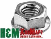Гайка крепления шины для бензопил McCulloch CS330, CS340, CS360, CS370, CS400, MAC 738, MAC 838, Хускварна (5300159-17)