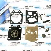 Ремкомплект K11-WAT карбюратора Walbro для мотокос Stihl FS 85, 86, 88, ФАРМЕРТЕК (PJ26066)