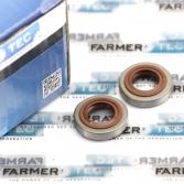 Сальники коленвала FARMERTEC 12x22x2 для мотокос Stihl FS 75, 80, 85, 120, 200, 250, 300, 350, 400, 450, 480, ФАРМЕРТЕК (PJ45013)