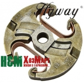 Сцепление Hyway для бензопил Husqvarna 340, 345, 346, 350, 353, 445, 450, 455, 460, Хивей (CA000013)