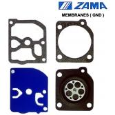Мембраны GND-29 карбюратора Zama для мотокос Jonsered 2235, 2236, Зама (Y29.18.191)