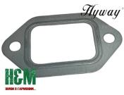 Прокладка глушника Hyway до бензорізів Stihl TS 400, Хивей (GA000019)