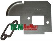 Пластина глушника до бензопил Stihl MS 180, Китай (200-718-078)