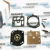 Ремкомплект K10-HD карбюратора Walbro до мотокос Stihl FS 500, 550, ФАРМЕРТЕК (PJ29061)