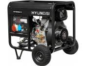 Дизельний генератор Hyundai DHY 8000LE-3 + колеса, Хюндай (DHY 8000LE-3)