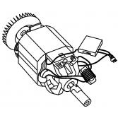 Электродвигатель для турботриммера Gardena ProCut 800, Гардена (5747262-01)