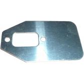 Пластина глушителя для мотокос Husqvarna, Jonsered, Хускварна (5022088-01)