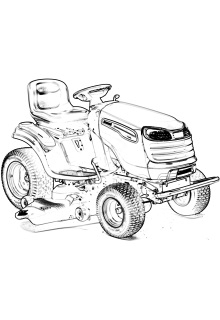 Запчастини до тракторів Jonsered
